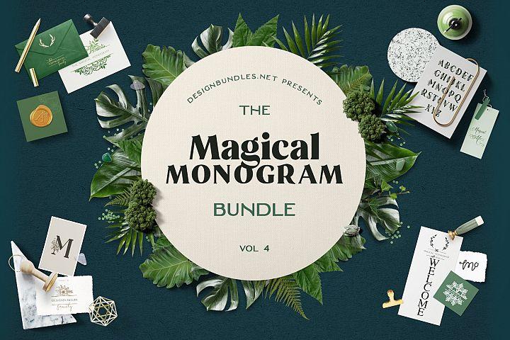 The Magical Monogram Bundle 4