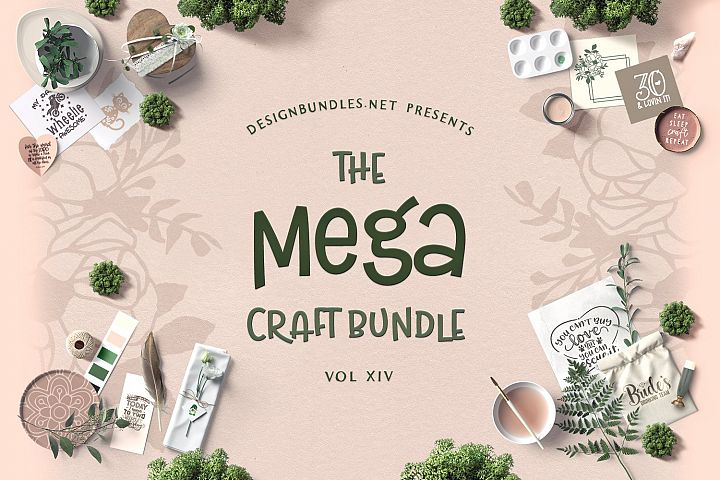 The Mega Craft Bundle XIV Cover
