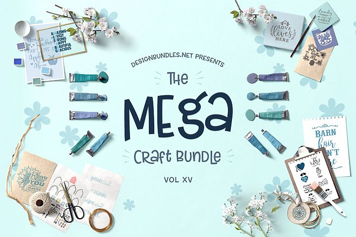 The Mega Craft Bundle XV Cover