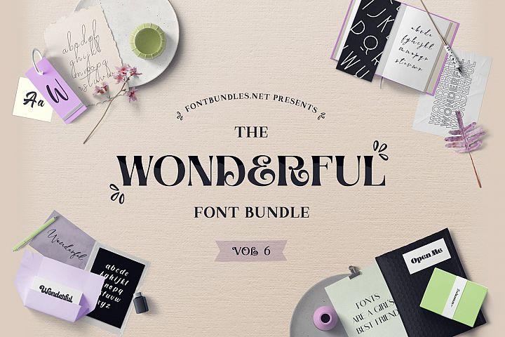 The Wonderful Font Bundle 6