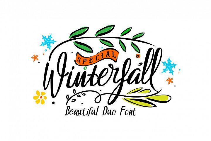 Winterfall Duo Font