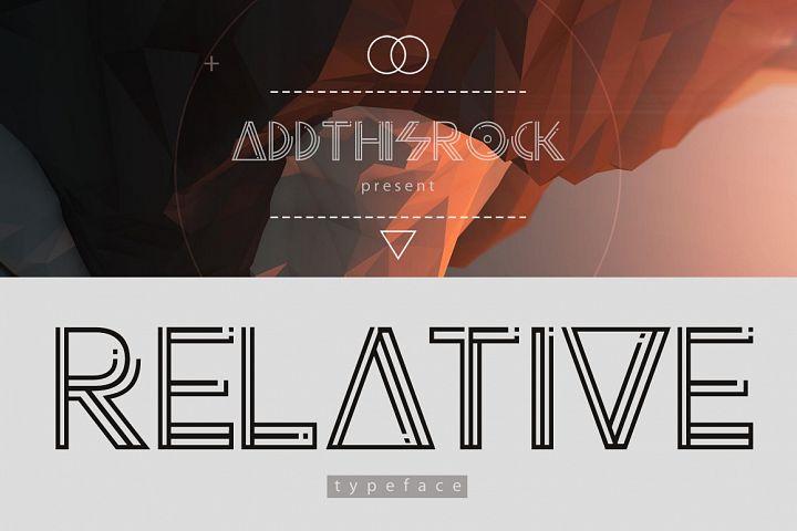 Relative Typeface
