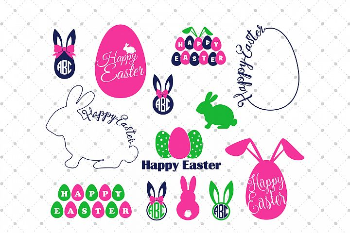 Easter SVG Cut Files