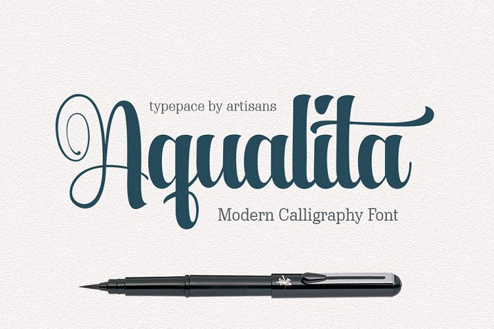 Aqualita - Free Font of The Week Font