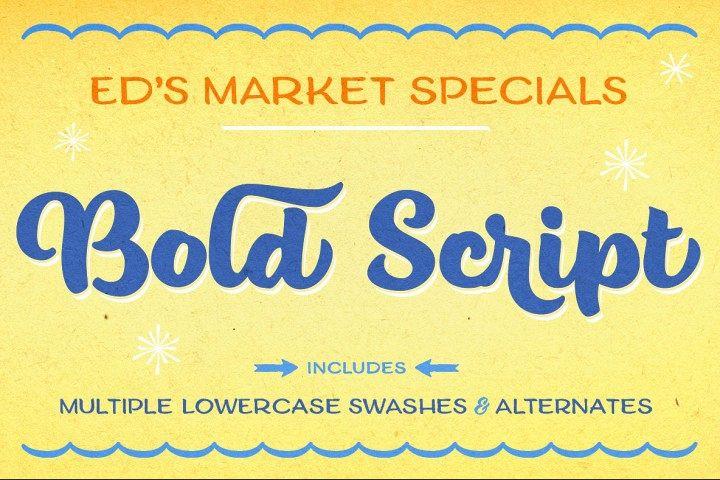 Eds Market Bold Script
