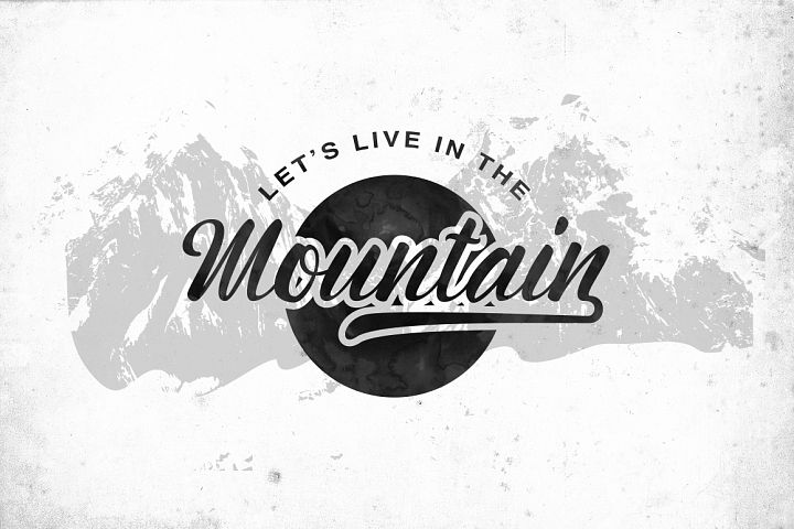 Montagne Typeface - Free Font of The Week Design0