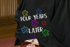 Graduation Cap Design - Four Years Later- A Mortar Board SVG example image 2