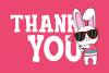 Funkie Bunny - SVG, EPS, DXF, PNG, example image 8