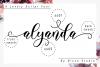 Alyanda Script example image 10
