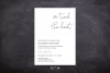 We Tied the Knot Invitation Template, Elopement Reception example image 3