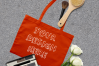 MEGA Bundle|Tote Bag Mockups with White Roses & Makeup Brush example image 4