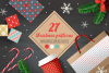 27 Christmas Seamless Patterns example image 1