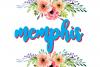 Memphis- cool elegant font example image 1