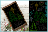 Foil Quill Single Line Christmas Elements SVG example image 3