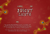 Bright Lights // A Merry Christmas Font example image 2