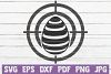Egg Target SVG Cut File example image 1