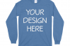 Gildan 5400 Long Sleeve Tshirt Mockups-16 example image 13