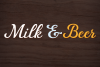 Fairlady a Chunky Script Font example image 3