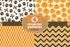 Halloween seamless patterns - set 3 example image 1