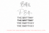 The Brittany // Font Trio example image 18