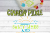 Salty Limes and Sunshine Summer Beach SVG example image 6