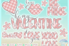 Valentines Day Plaid Bundle Svg Dxf Eps Png Pdf Files example image 3