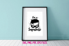 I'm a Superhero wall art / svg, eps, png file example image 1