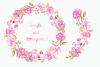Watercolor Sakura Clip Art Set example image 3
