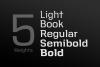 VersaBlock Sharp Geometric Font example image 2