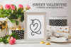 Sweet Valentine - A Monogram Font example image 1