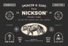 S&S Nickson Font Bundles  example image 1