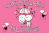 Countless Hearts | Love Craft Font example image 1