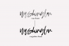 Washington - A Handwritten SVG Script Font example image 8