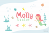 Molly - Mermaid Display font example image 6