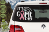 Game Day Ribbon / Breast Cancer Awareness SVG File example image 3