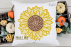 Sunflower SVG / PNG / EPS / DXF Files example image 4