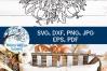Pumpkin Mandala SVG | Fall Mandala SVG | Fall SVG example image 3