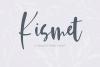 Kismet Handlettered Font example image 1