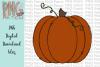 Pumpkin, Fall PNG File, Pumpkins Sublimation Design example image 1
