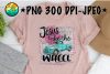 Jesus Take The Wheel - PNG for Sublimation example image 1