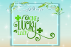 One Lucky Lady St Patricks Day SVG example image 1