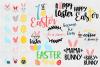 Easter SVG Bundle Easter SVG Easter Bunny SVG Mama Bunny SVG example image 1