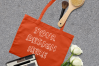 MEGA Bundle|Tote Bag Mockups with White Roses & Makeup Brush example image 8