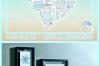 Subway Art Wedding Anniversary Heart SVG example image 4