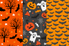 12 Halloween Seamless Patterns example image 2