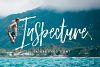 Inspecture Brush Font example image 1