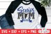 Cheer Senior Mom | Cheer SVG Cut File example image 1
