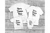 Family Tshirt Mockup Bundle, Kids Shirt Mock Up Bundle Set example image 3