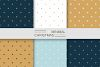 Simple seamless winter patterns example image 5