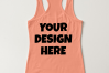 Ladies Tank Top Mockups - 20|Front/Back|PNG example image 8